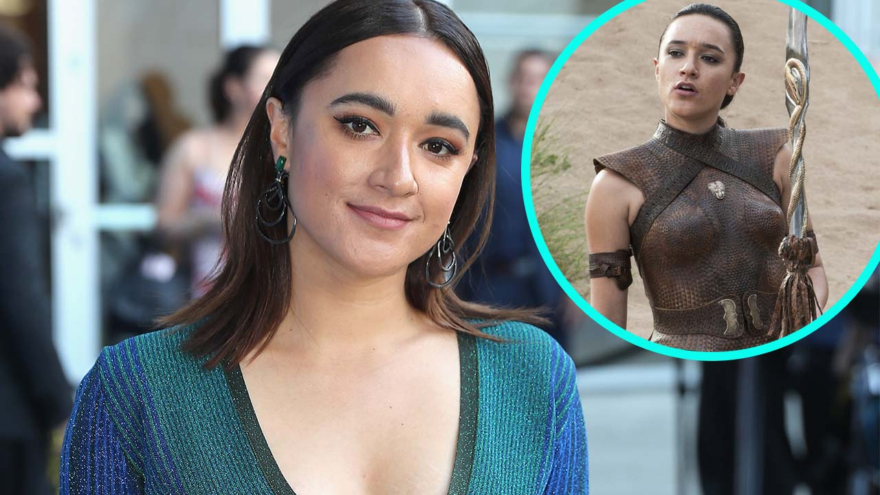 EXCLUSIVE: Keisha Castle-Hughes on 'Insane' 'Game of ...  EXCLUSIVE: Keis...