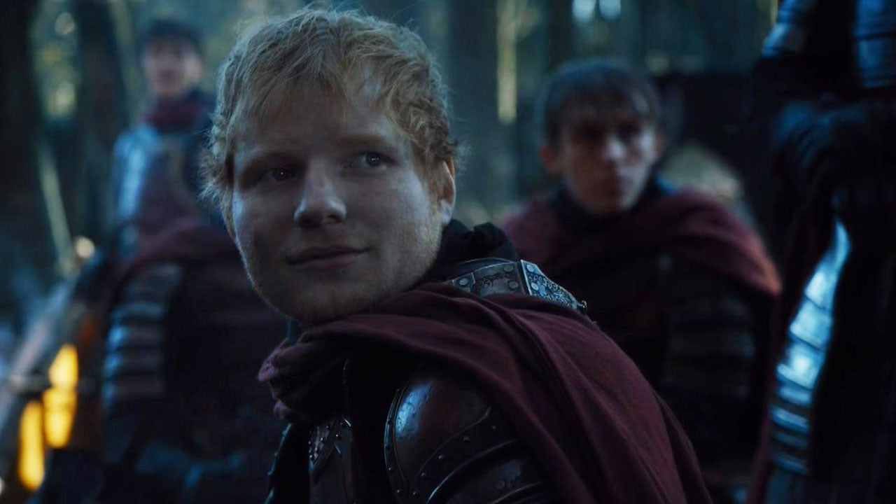 Ed Sheeran Makes His Game Of Thrones Debut And Even