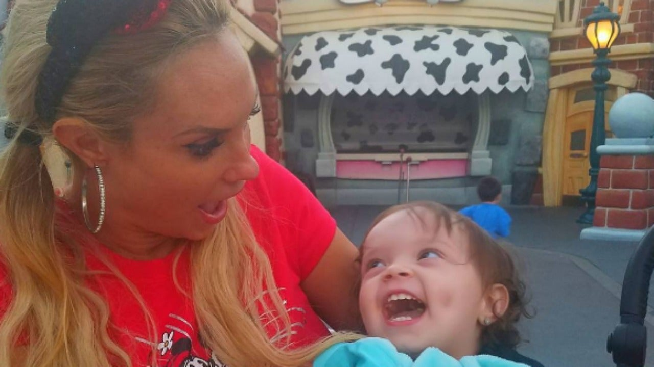 coco austin takes daughter chanel to disneyland for the
