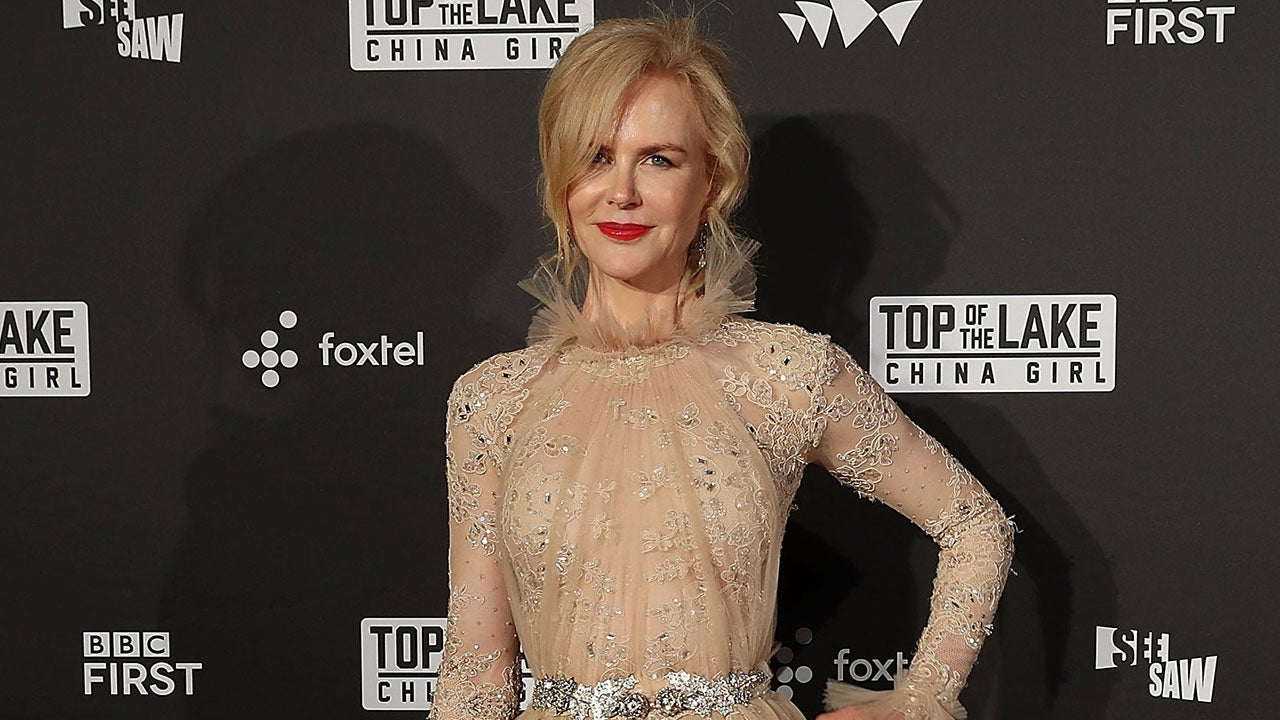 Nicole Kidman Looks Like an Ethereal Dream at Top of the