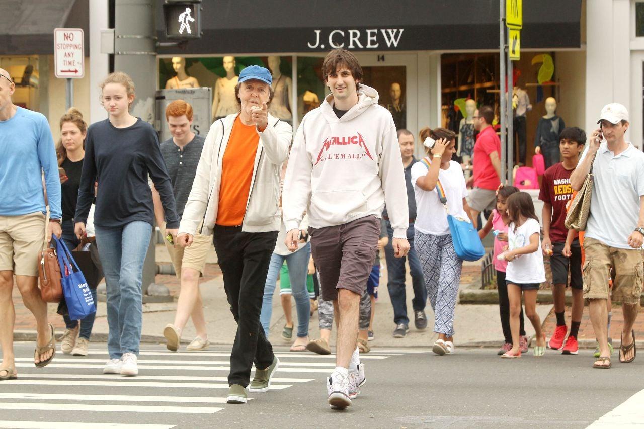 The Beatles Polska: Rodzinne popołudnie Paula McCartneya