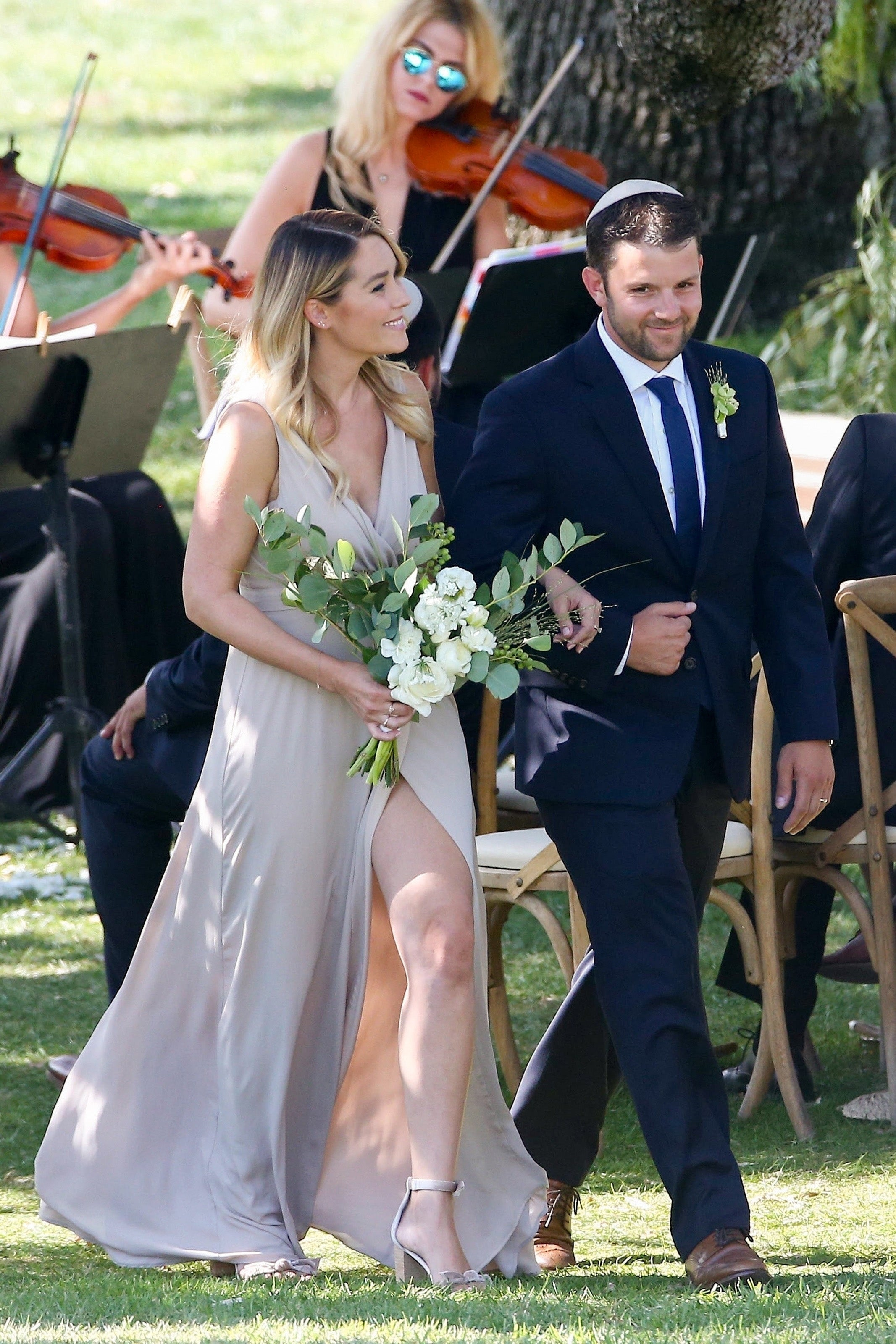 Lauren Conrad Is A Gorgeous Bridesmaid Six Weeks After Giving Birth To Son Liam Ktvb Com