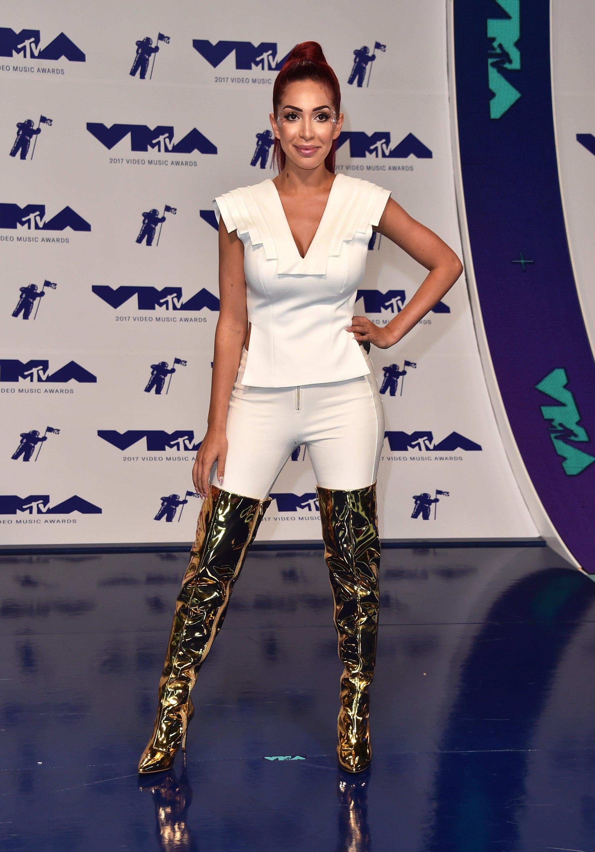 Farrah Abraham at 2017 VMAs