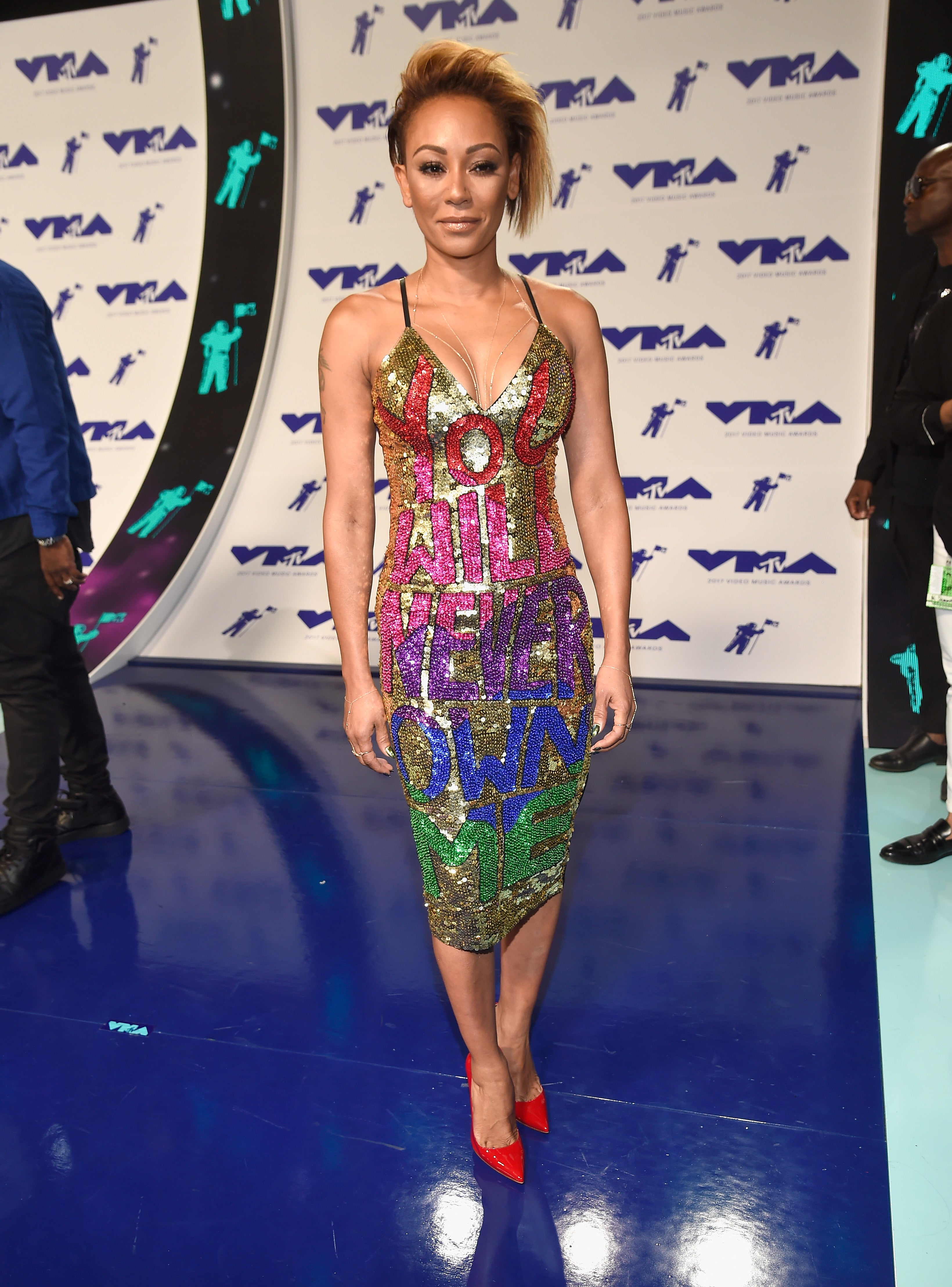 Is Mel B Making A Statement About Her Divorce With Her Mtv