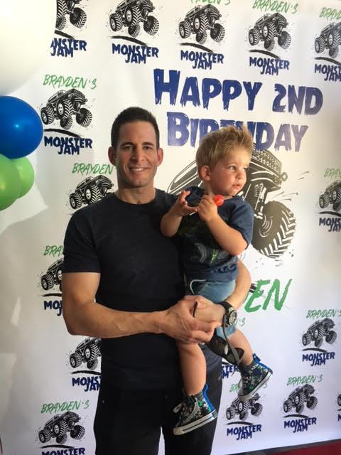 Exclusive Pic Tarek El Moussa Celebrates Son Brayden S