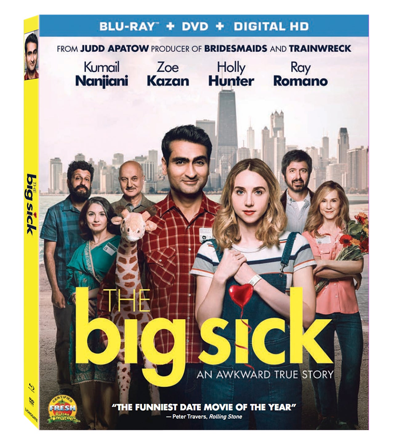 The Big Sick DVD Cover