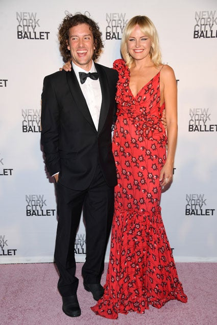 Malin Akerman at NYC Ballet