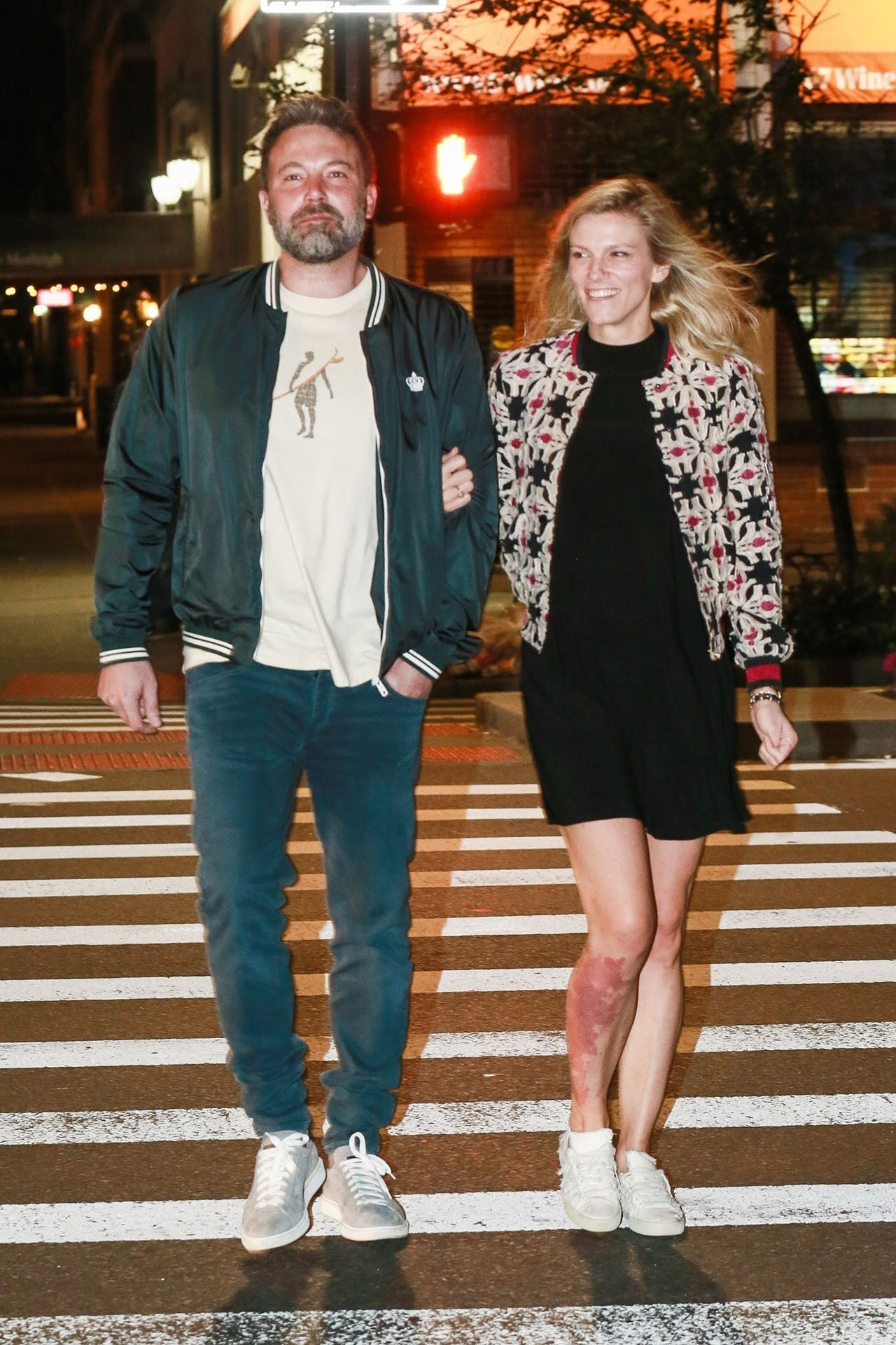 Ben Affleck and Lindsay Shookus go to the movies