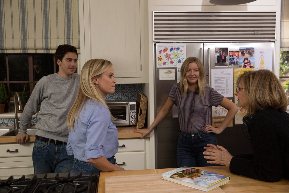 Reese Witherspoon, Nat Wolff, Hallie Meyers-Shyer, Nancy Meyers, 'Home Again'