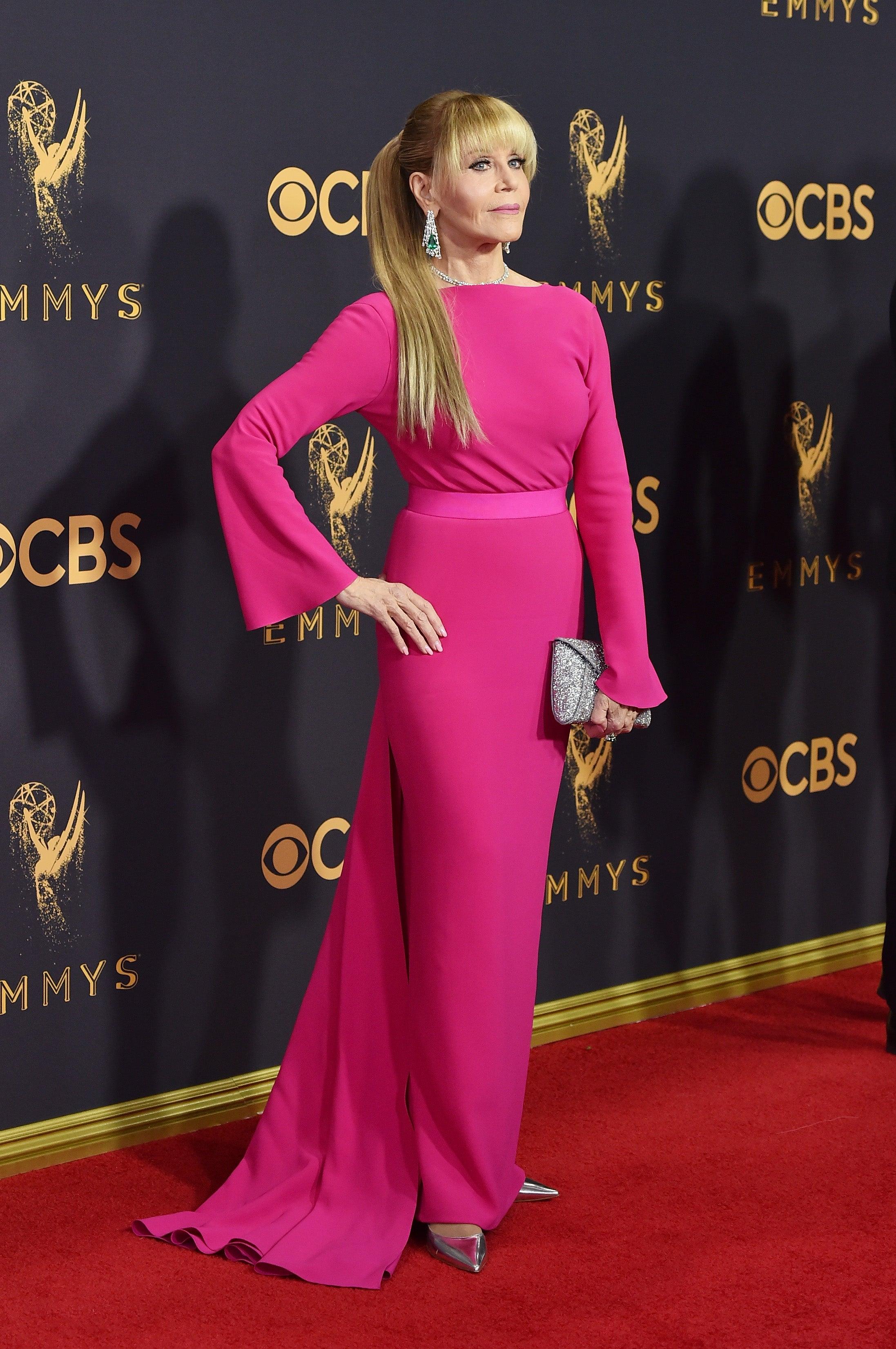 Jane Fonda Emmys 2017