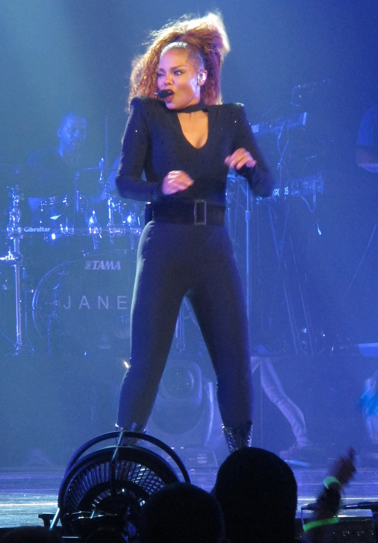 Janet Jackson Shows Off Her Weight Loss Rocks Out At