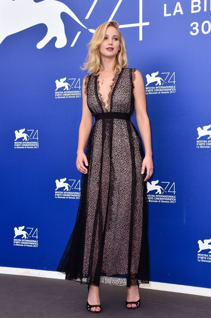 Jennifer Lawrence at Venice Film Festival