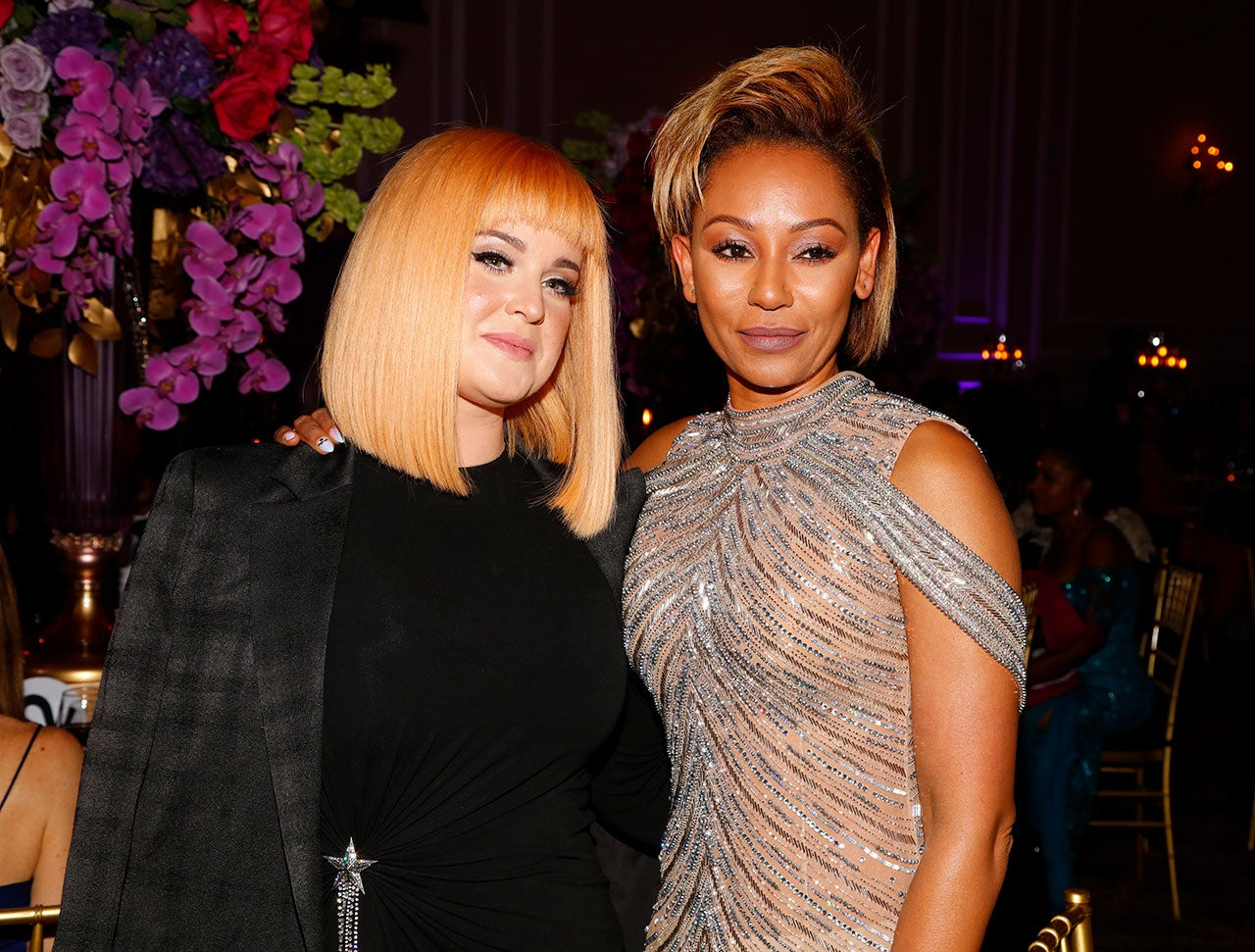 Kelly Osbourne and Mel B