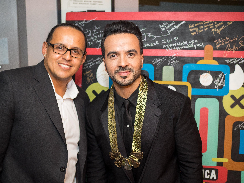 Luis Fonsi at Hispanic Heritage Awards