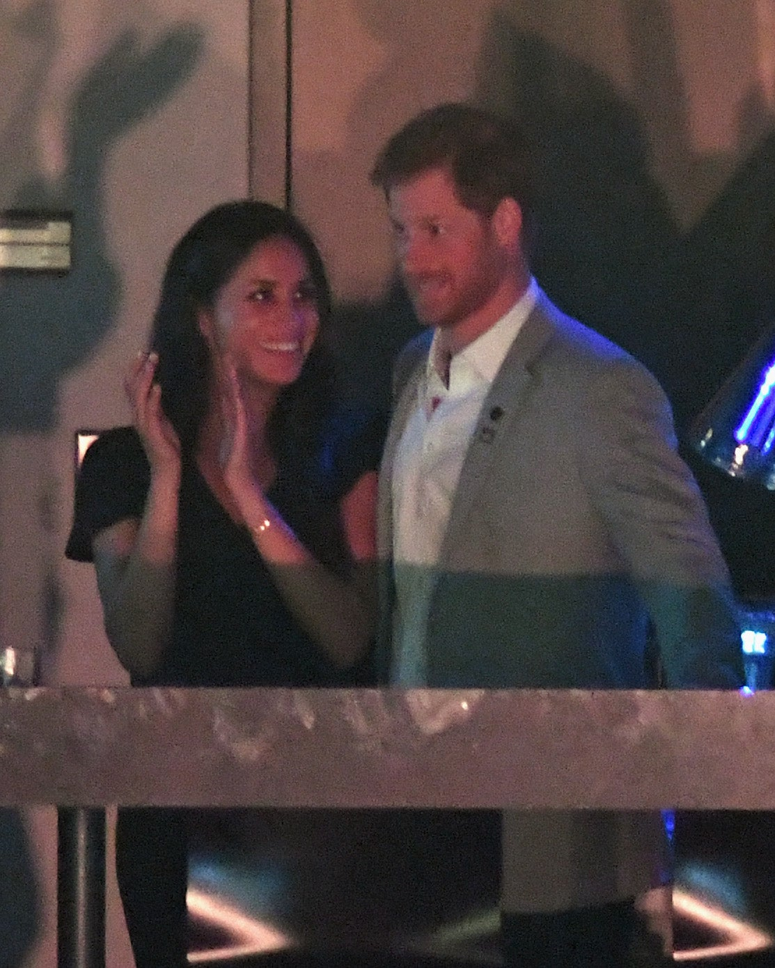 Meghan Markle Cozies Up To Prince Harry At The Invictus