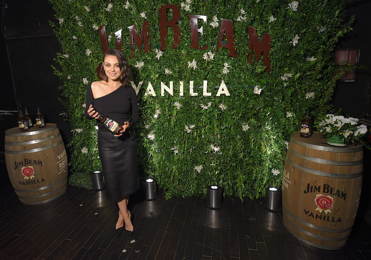 Mila Kunis at Jim Beam Vanilla launch
