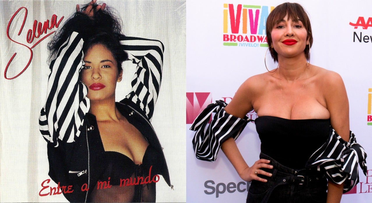 Selena Quintanilla and Jackie Cruz