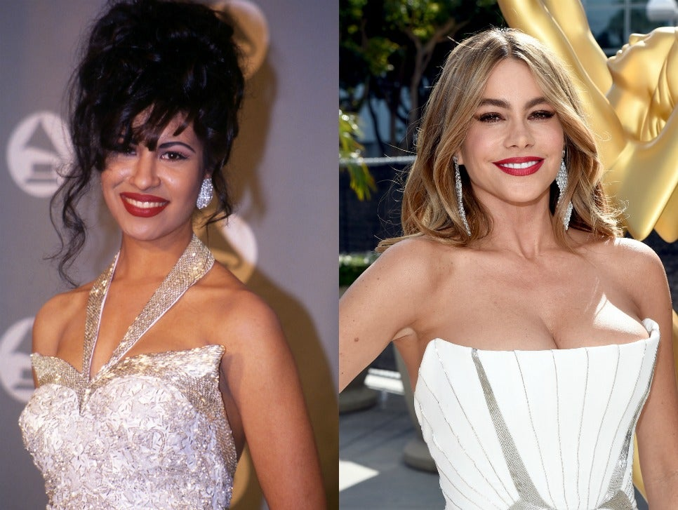 Selena Quintanilla and Sofia Vergara