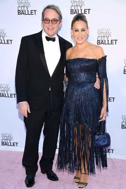 Sarah Jessica Parker and Matthew Broderick at NYC Ballet