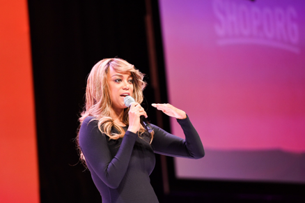 Tyra Banks at Shop.org conference