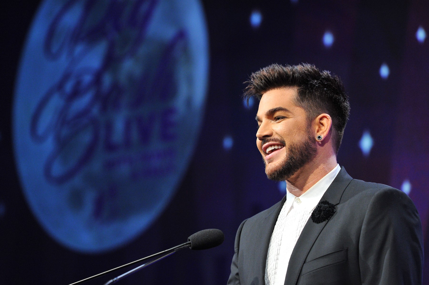 Adam Lambert at Big Brothers Big Sisters Los Angeles event