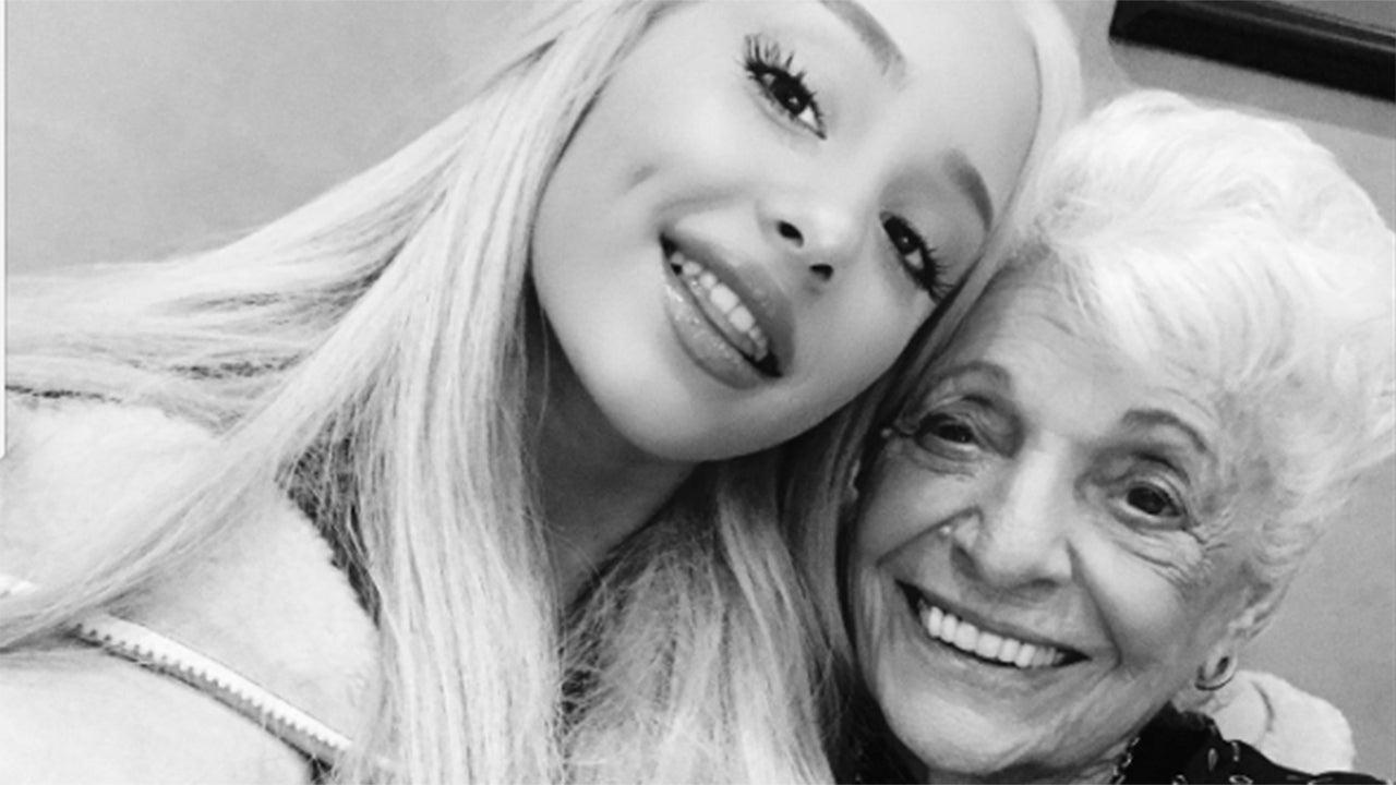 Ariana Grande Celebrates Her Nonna S 92nd Birthday In