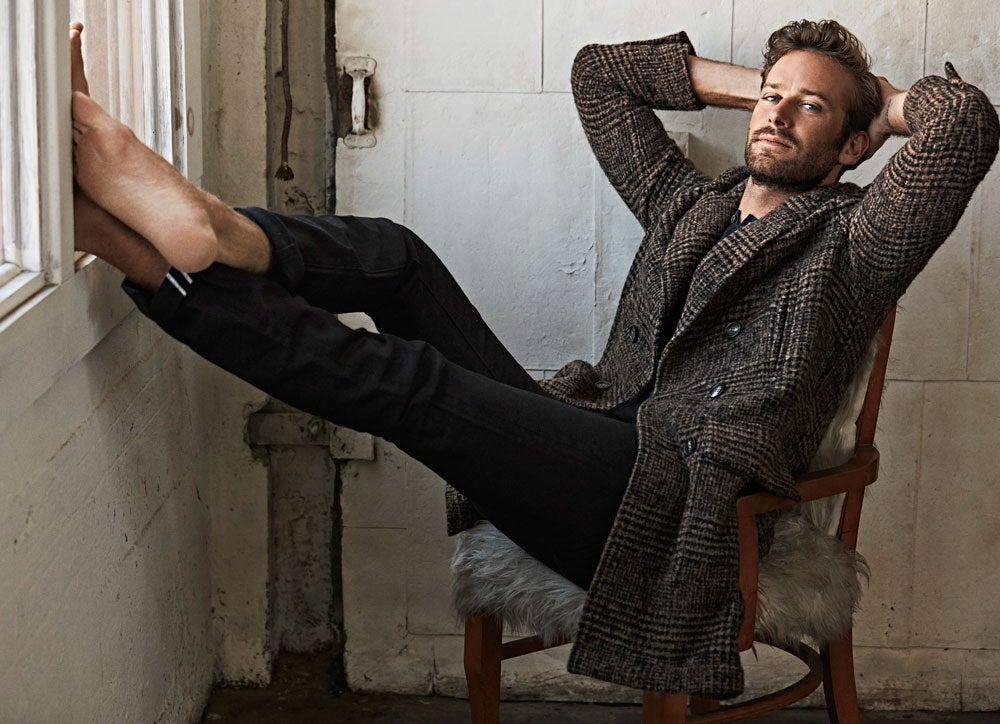 Armie Hammer Talks Stripping Everything Away In Call Me