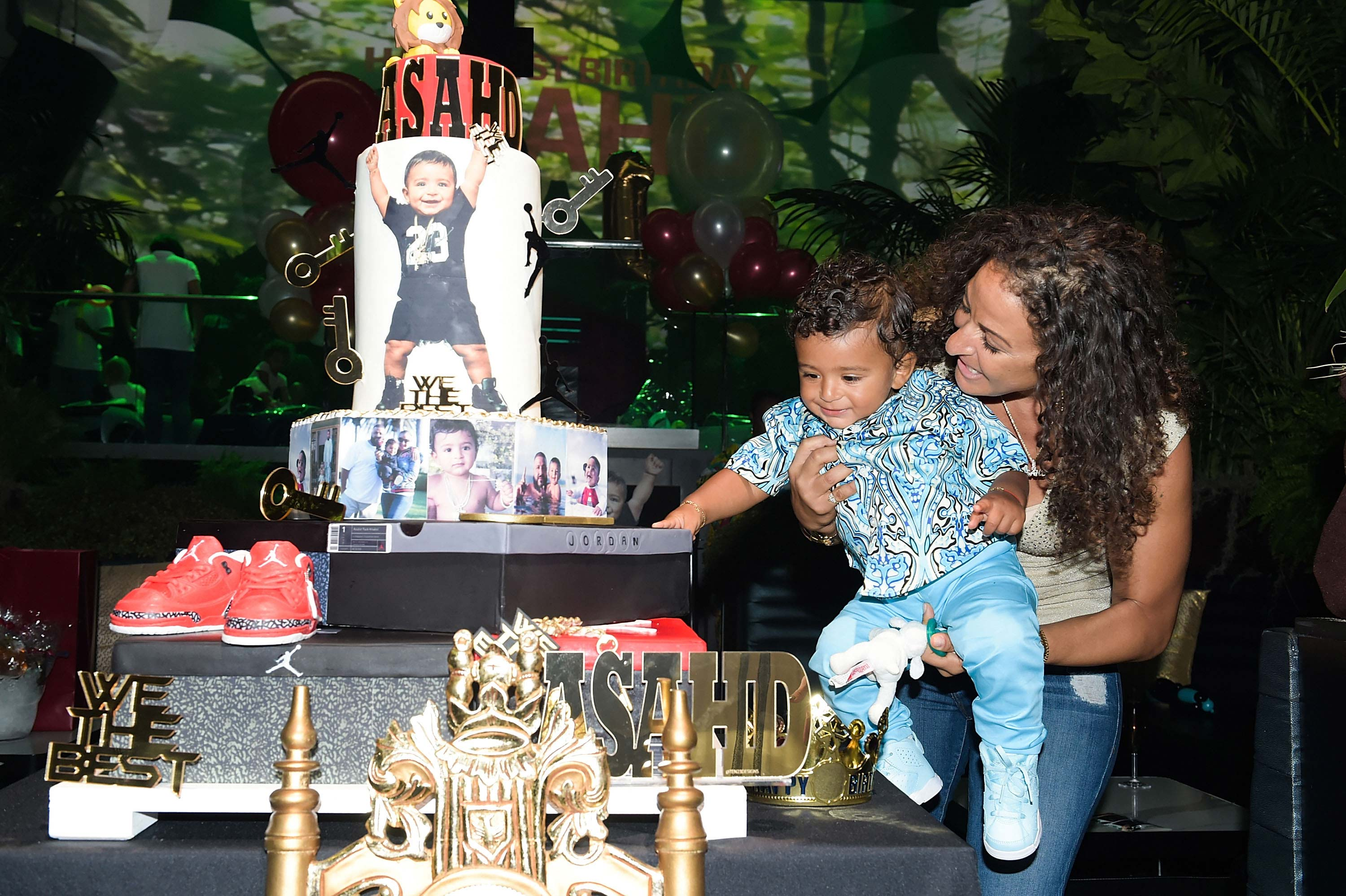 DJ Khaled My Son Partied at LIV Nightclub ... For First Birthday!!!