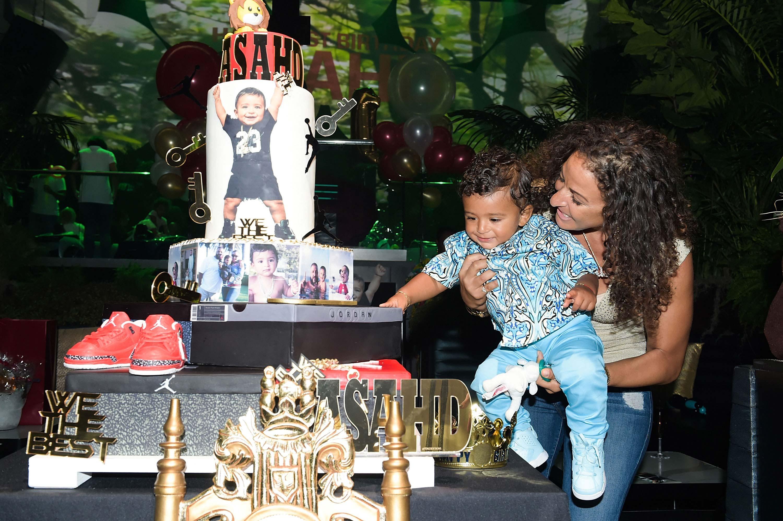 Dj Khaled Celebrates Son Asahd S 1st Birthday With Epic