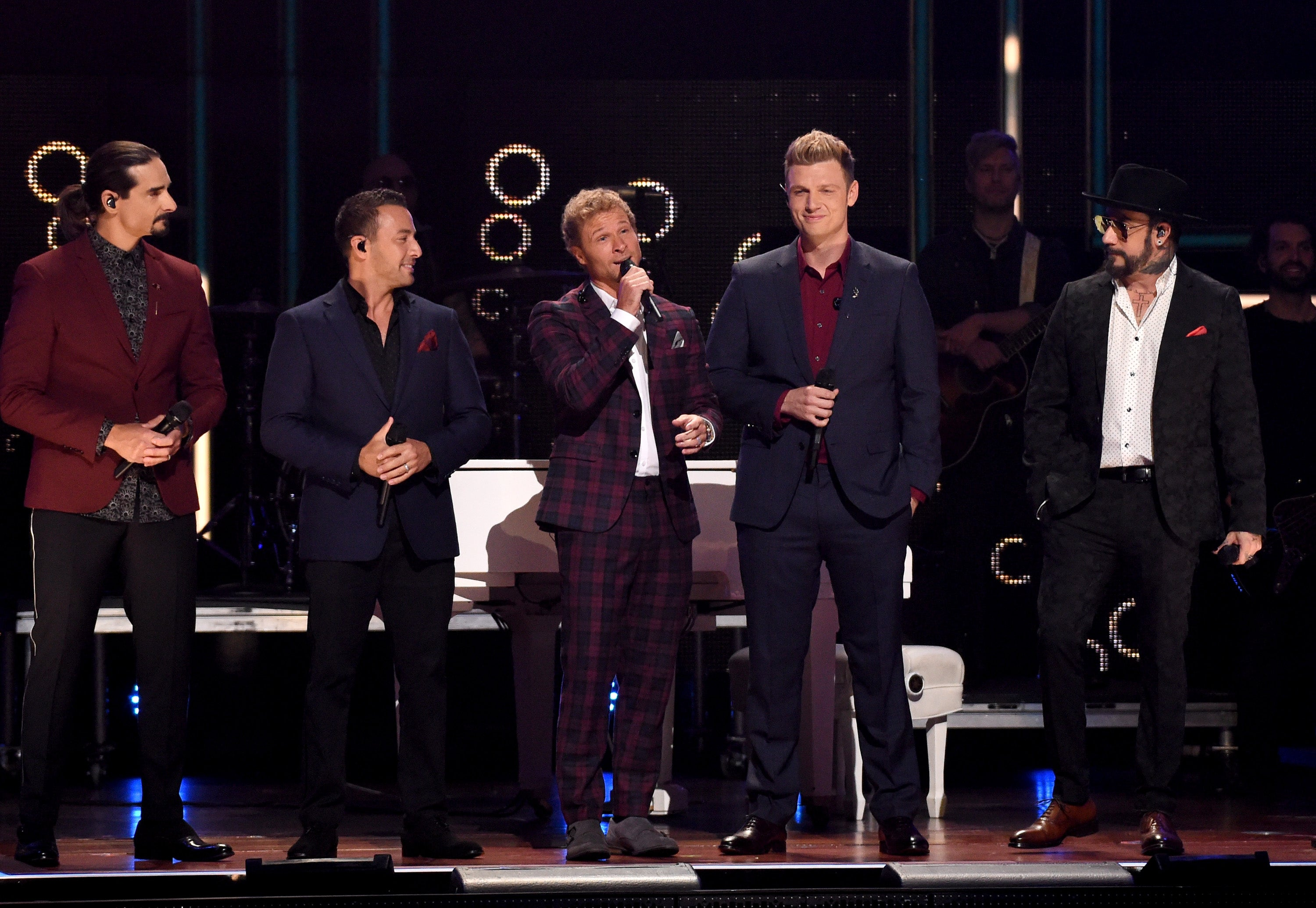 Backstreet Boys at CMT Artists of the Year 2017