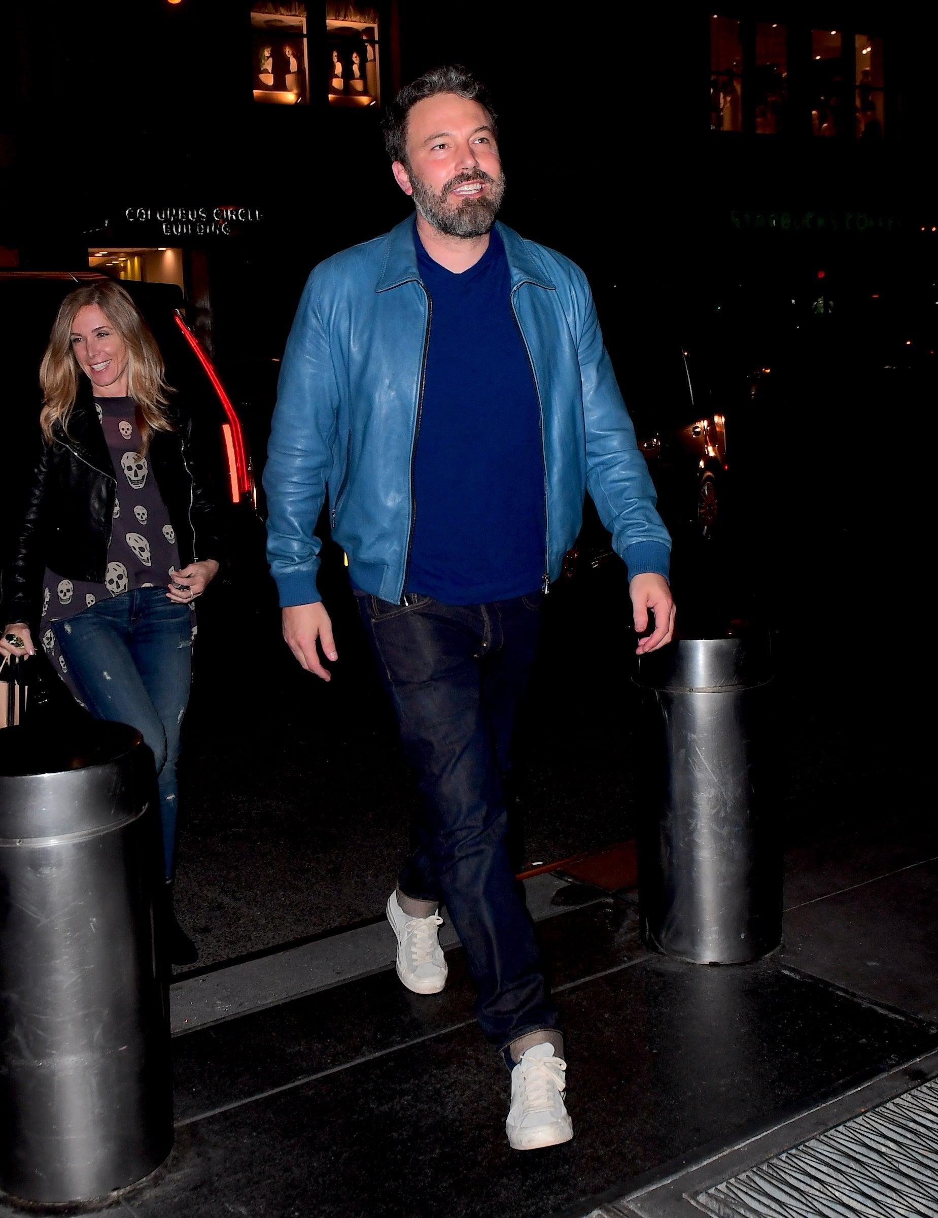 Ben Affleck attends SNL after party 10/08/17