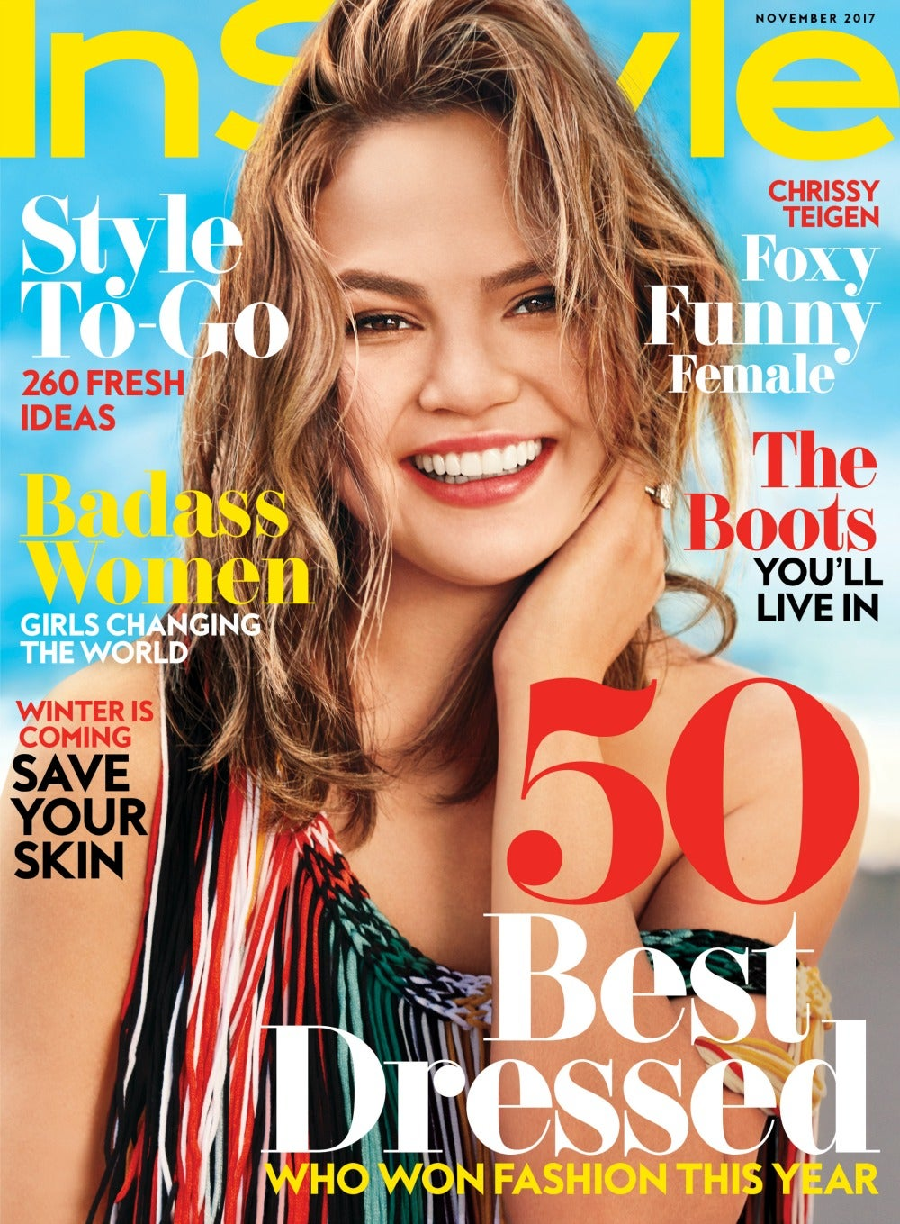 Chrissy Teigen Cover Instyle