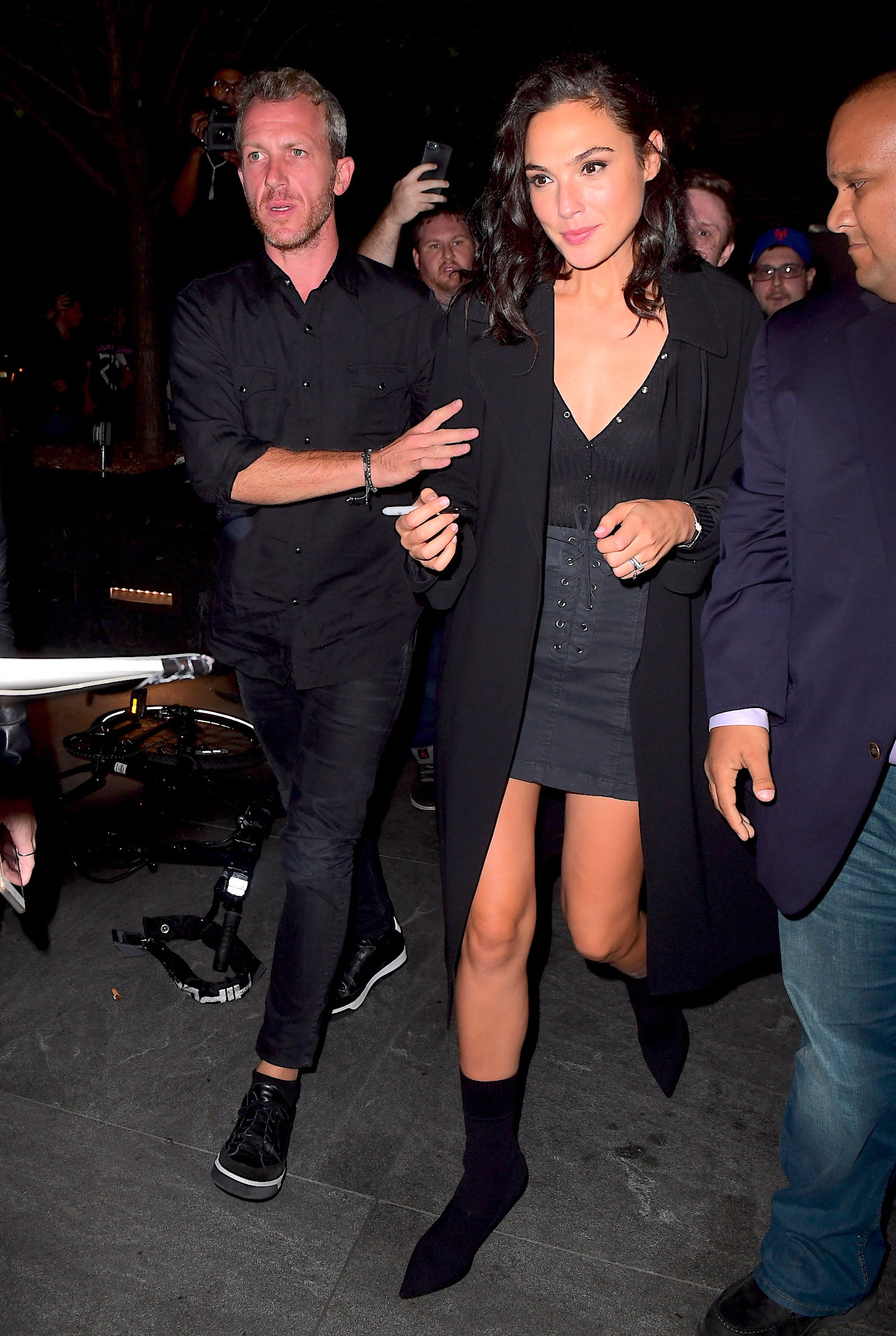 Gal Gadot and husband attend SNL after party 10/08/17