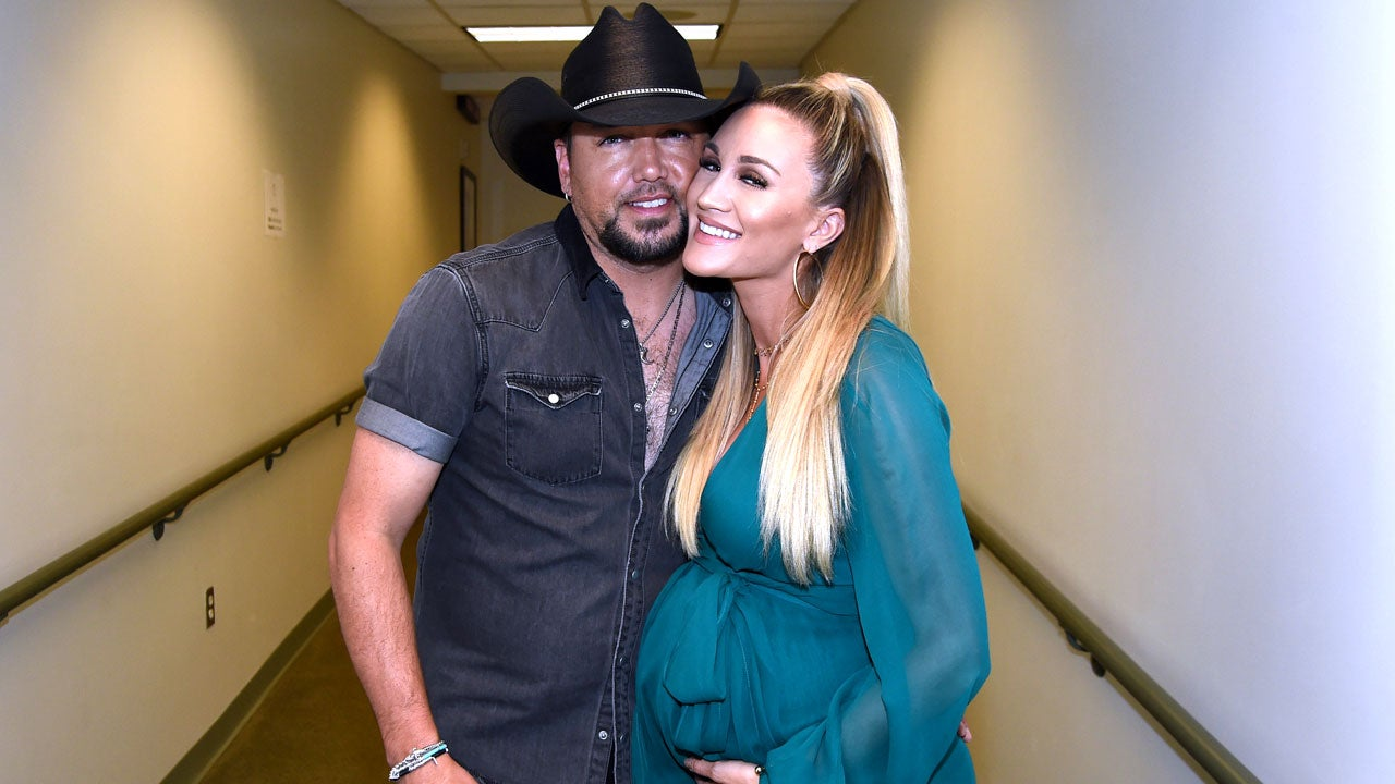 Jason Aldean and Wife Brittany Welcome Baby Boy -- See the ...