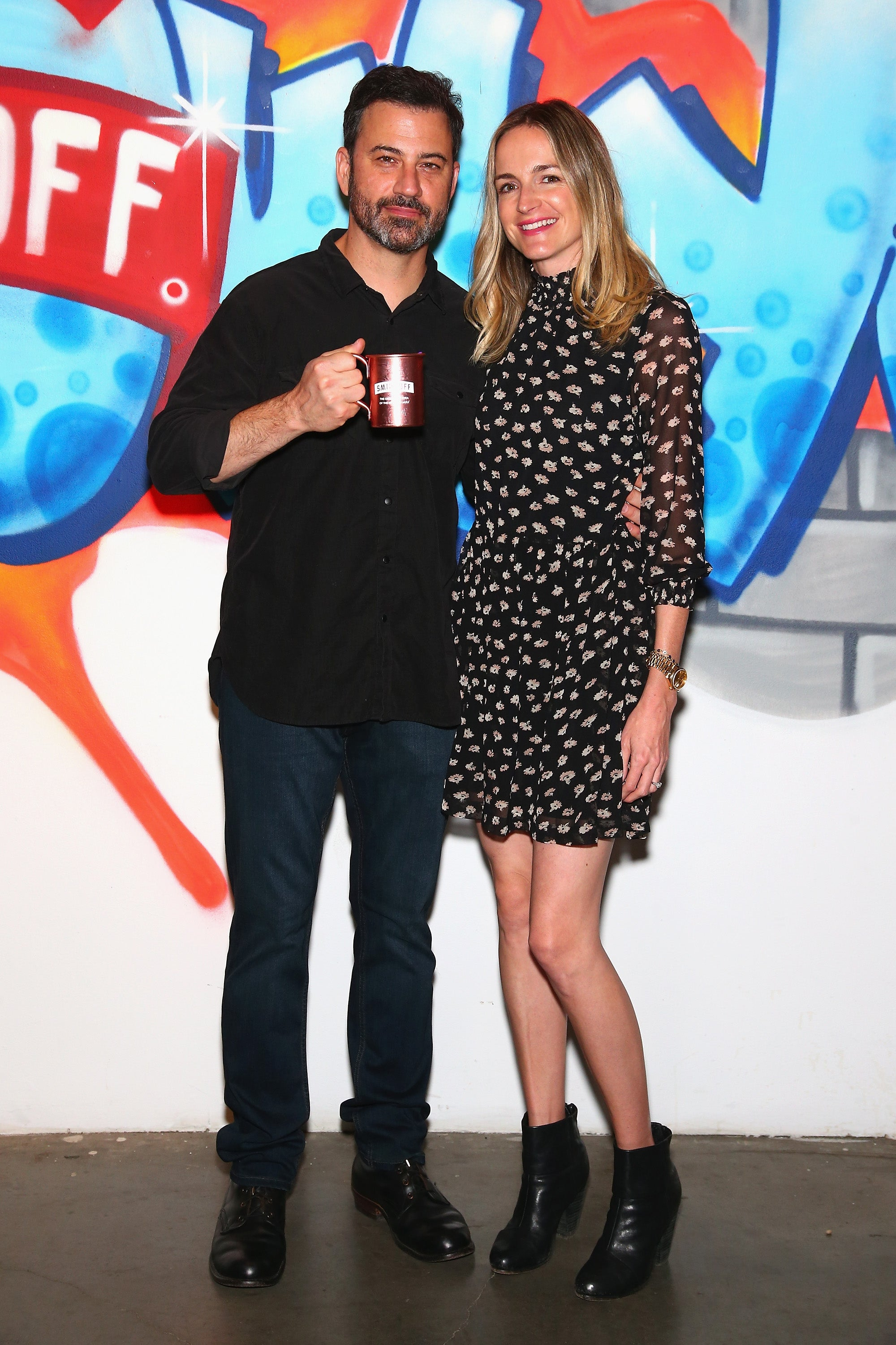 Jimmy Kimmel and Molly McNearney - Smirnoff