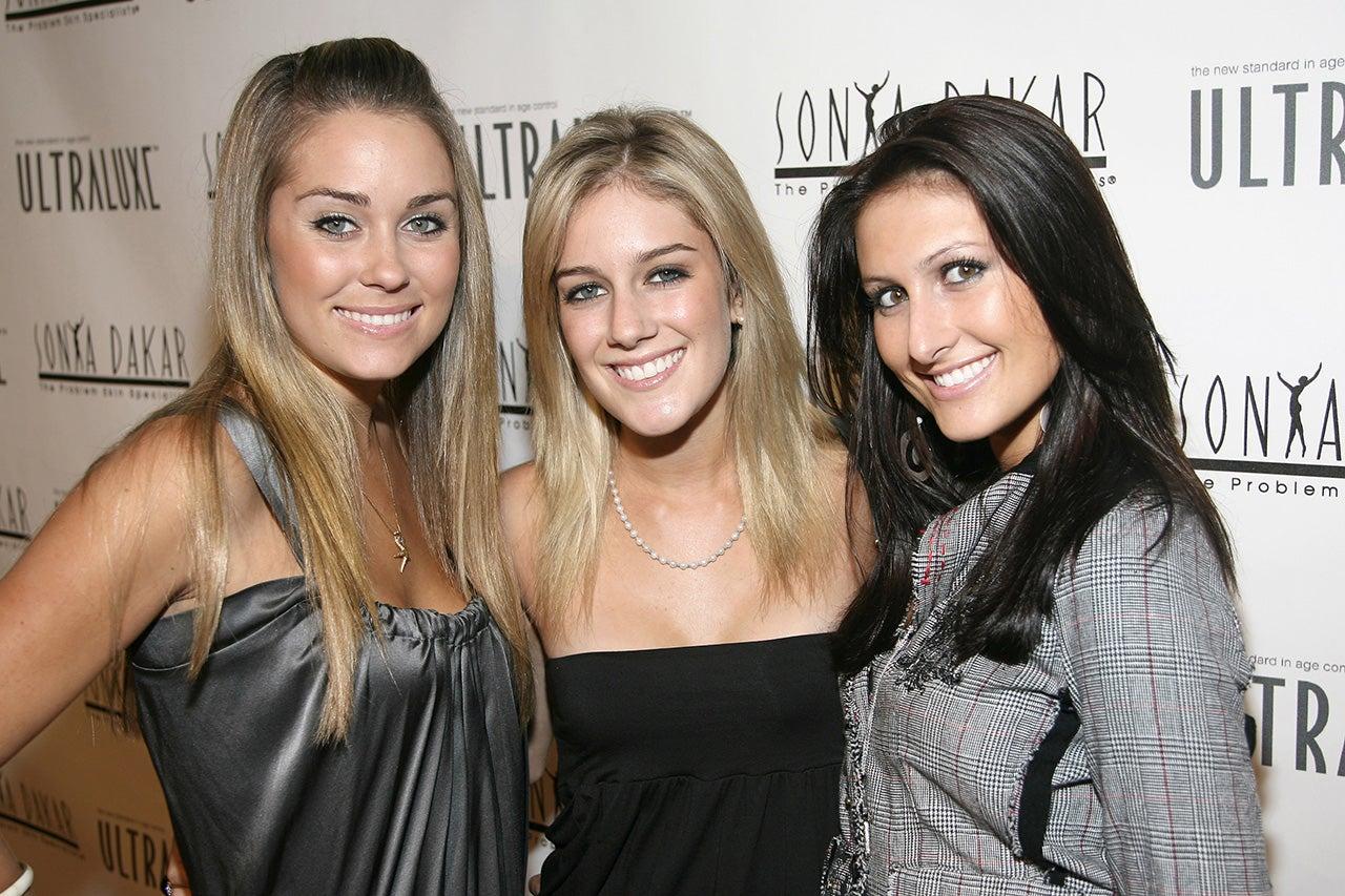 Lauren Conrad, Heidi Montag, and Jen Bunney