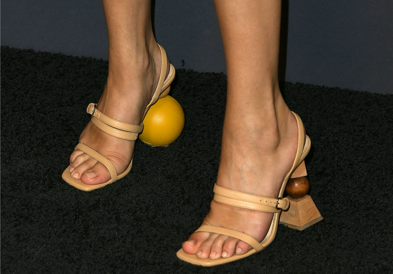 Selena Gomez Heels at InStyle Awards