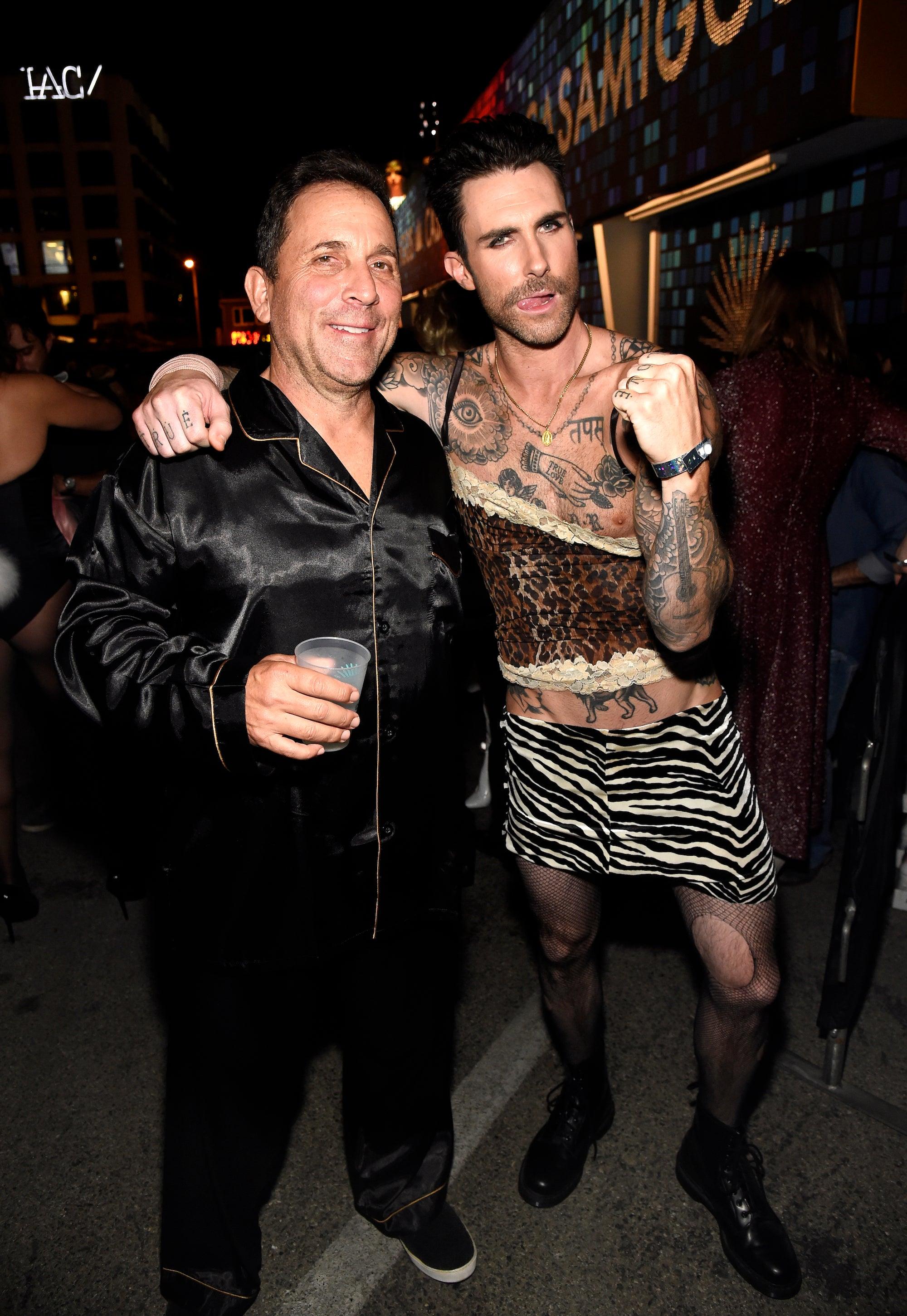 Adam Levine 'Raided' Wife Behati Prinsloo's Closet for Halloween ...
