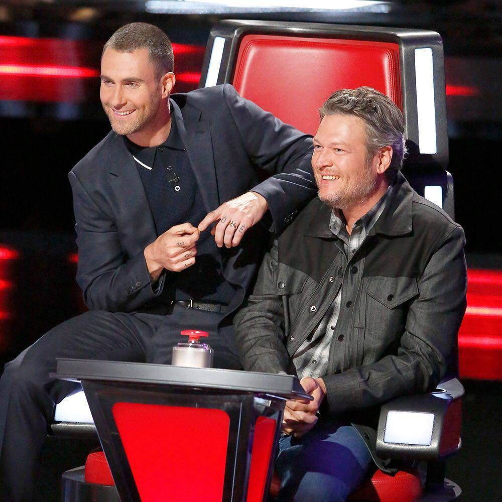Blake Shelton Amp Adam Levine Take Their Feud To The Next