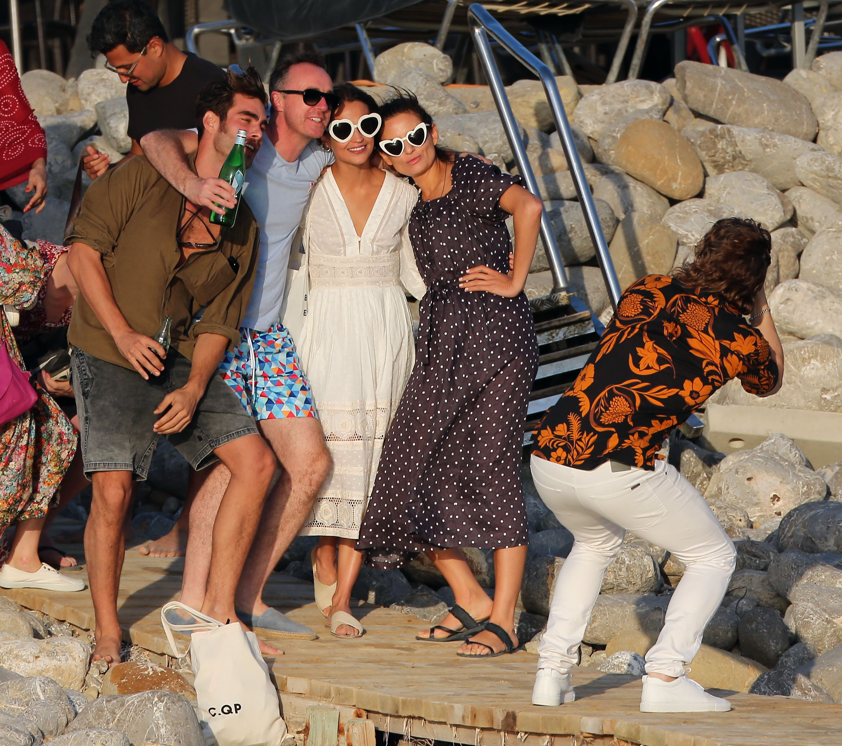 Michael Fassbender and Alicia Vikander Took a Vow in Ibiza