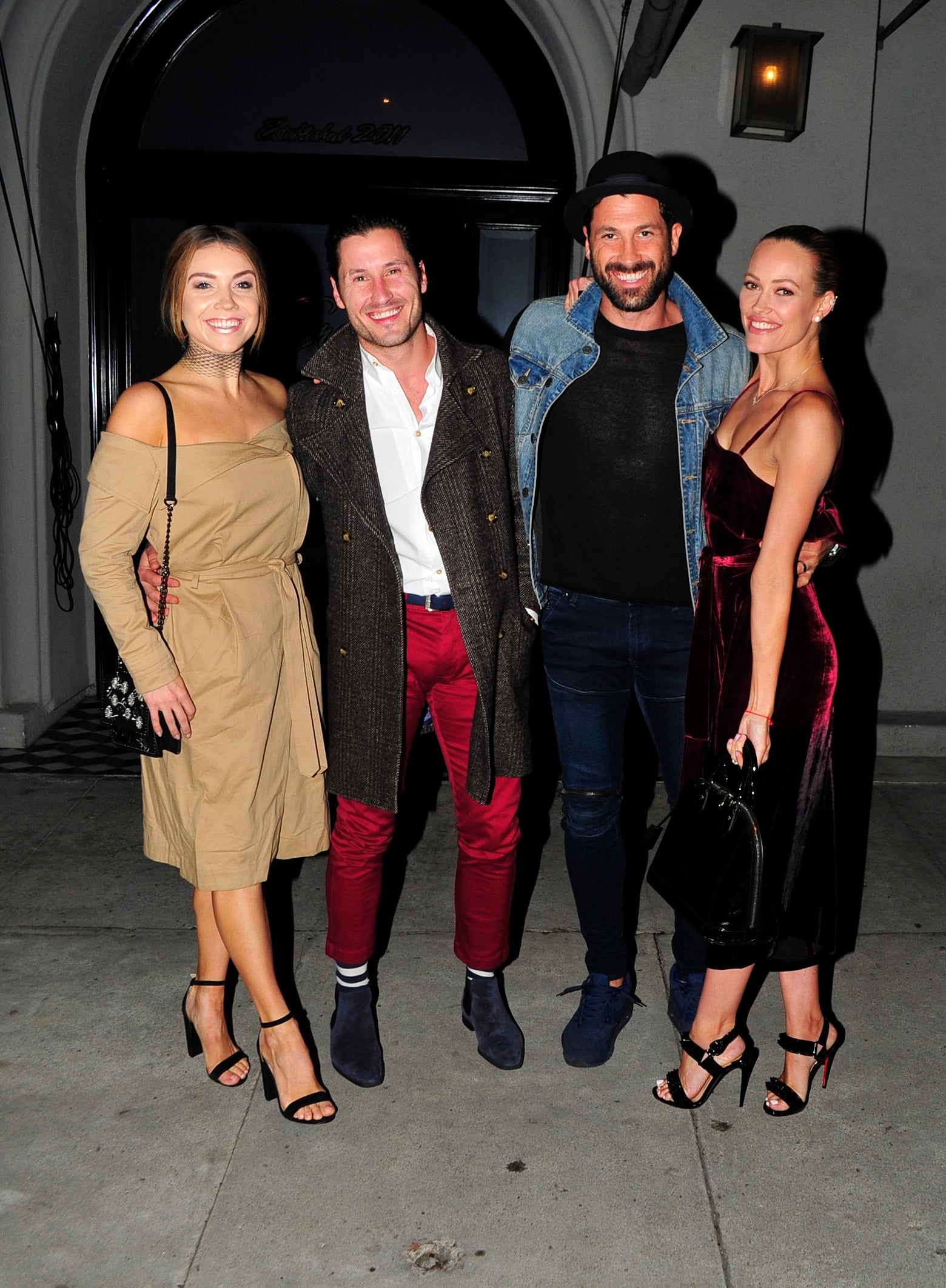 Maksim Chmerkovskiy And Peta Murgatroyd Have A Stylish