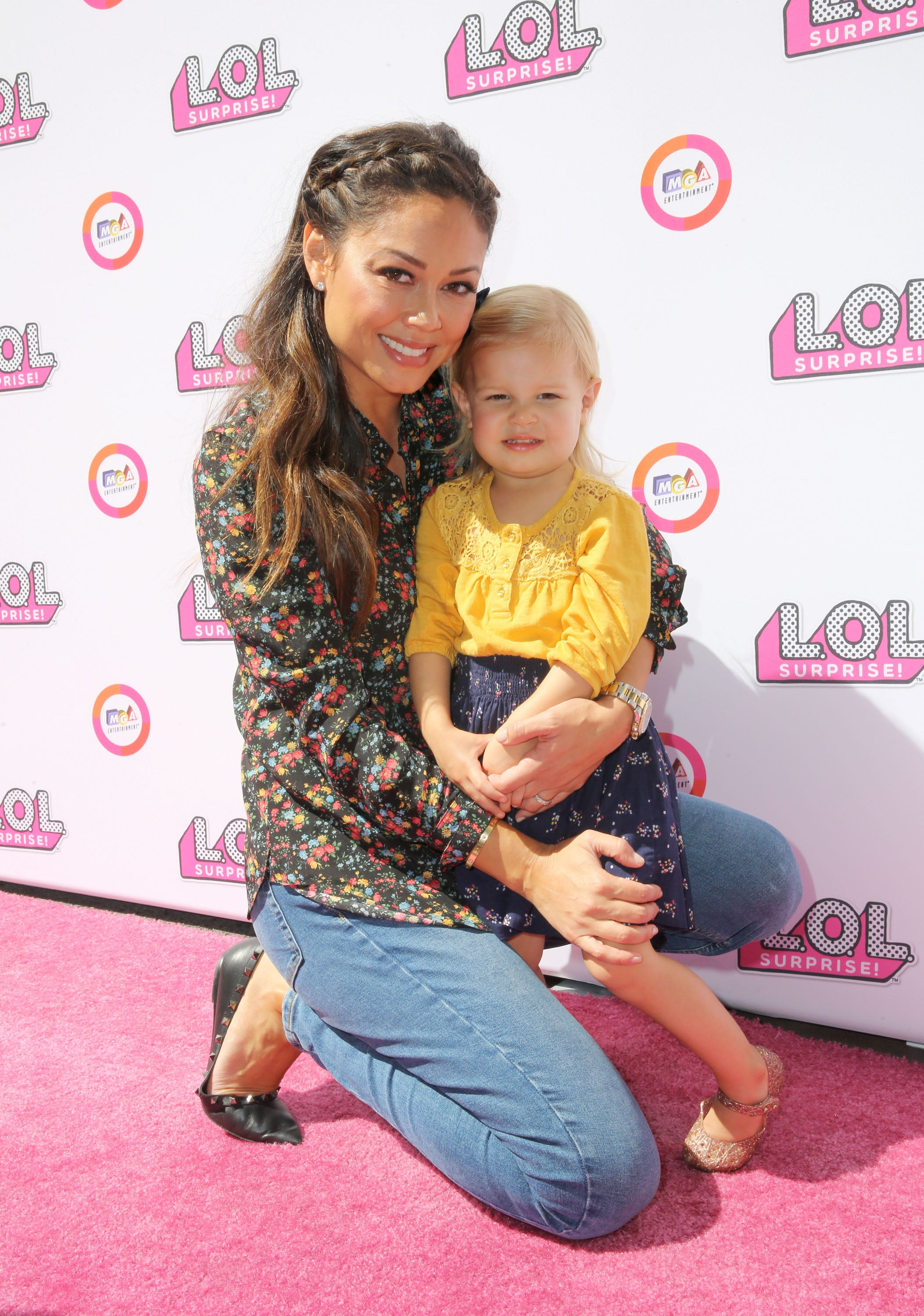 Star Sightings Vanessa Lachey Has A Mommy Amp Me Date