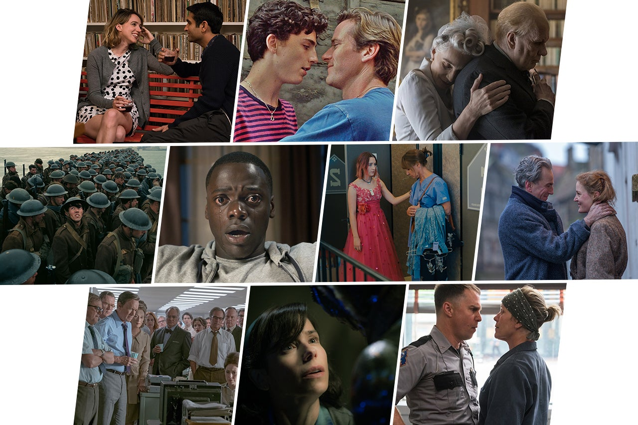 2018 Oscars Best Picture Predictions, Round 1