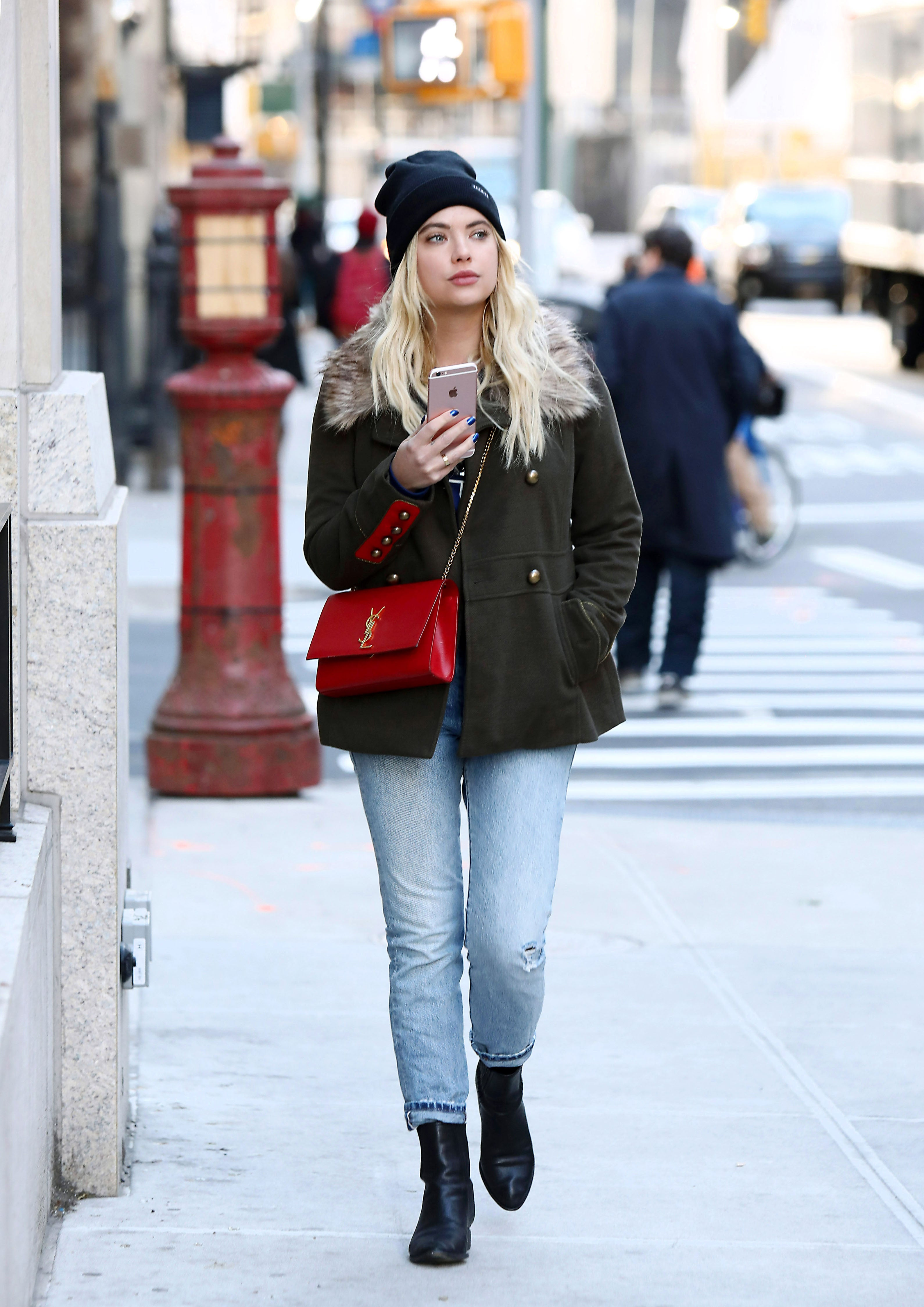 Ashley Benson in NYC