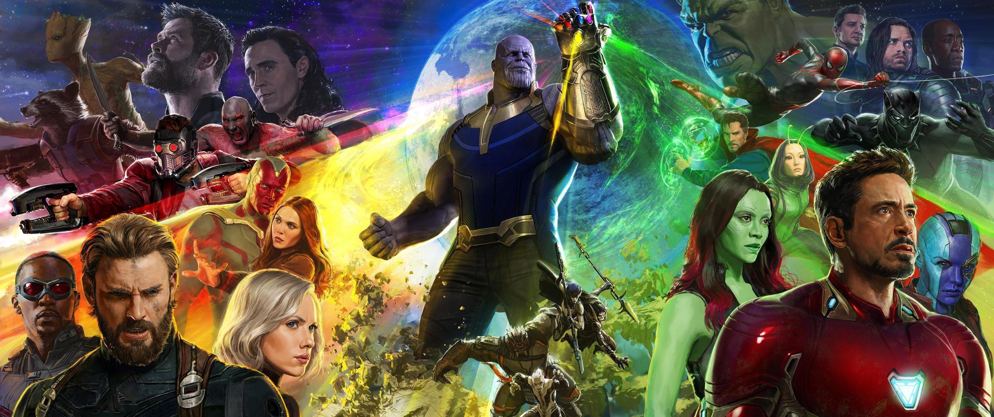 Avengers: Infinity War Keyart