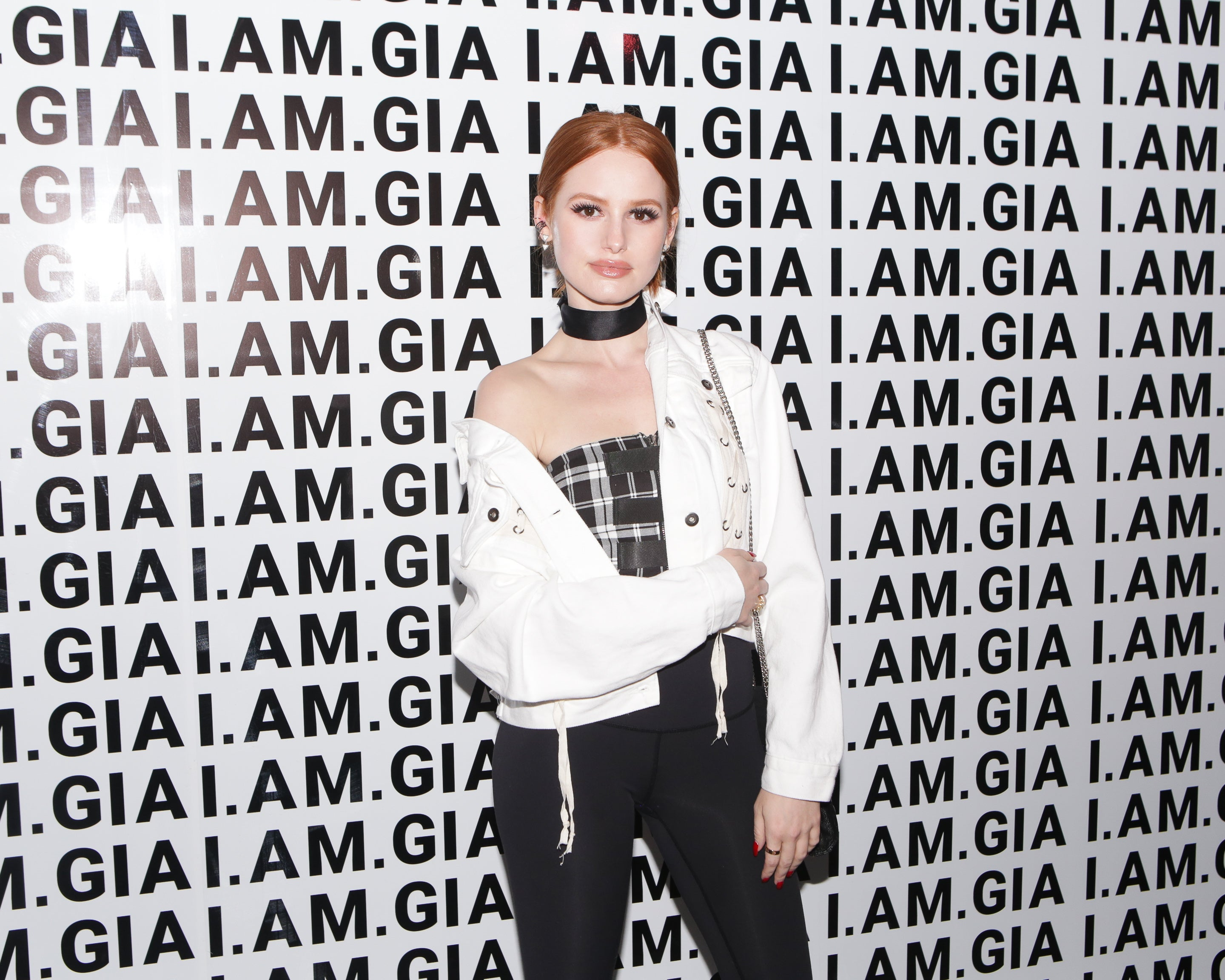 Madelaine Petsch at IAMGIA launch