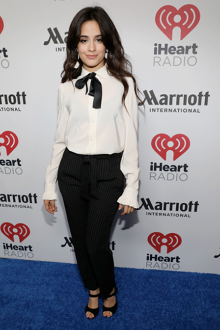 Camila Cabello at iHeartRadio Latina event in Miami