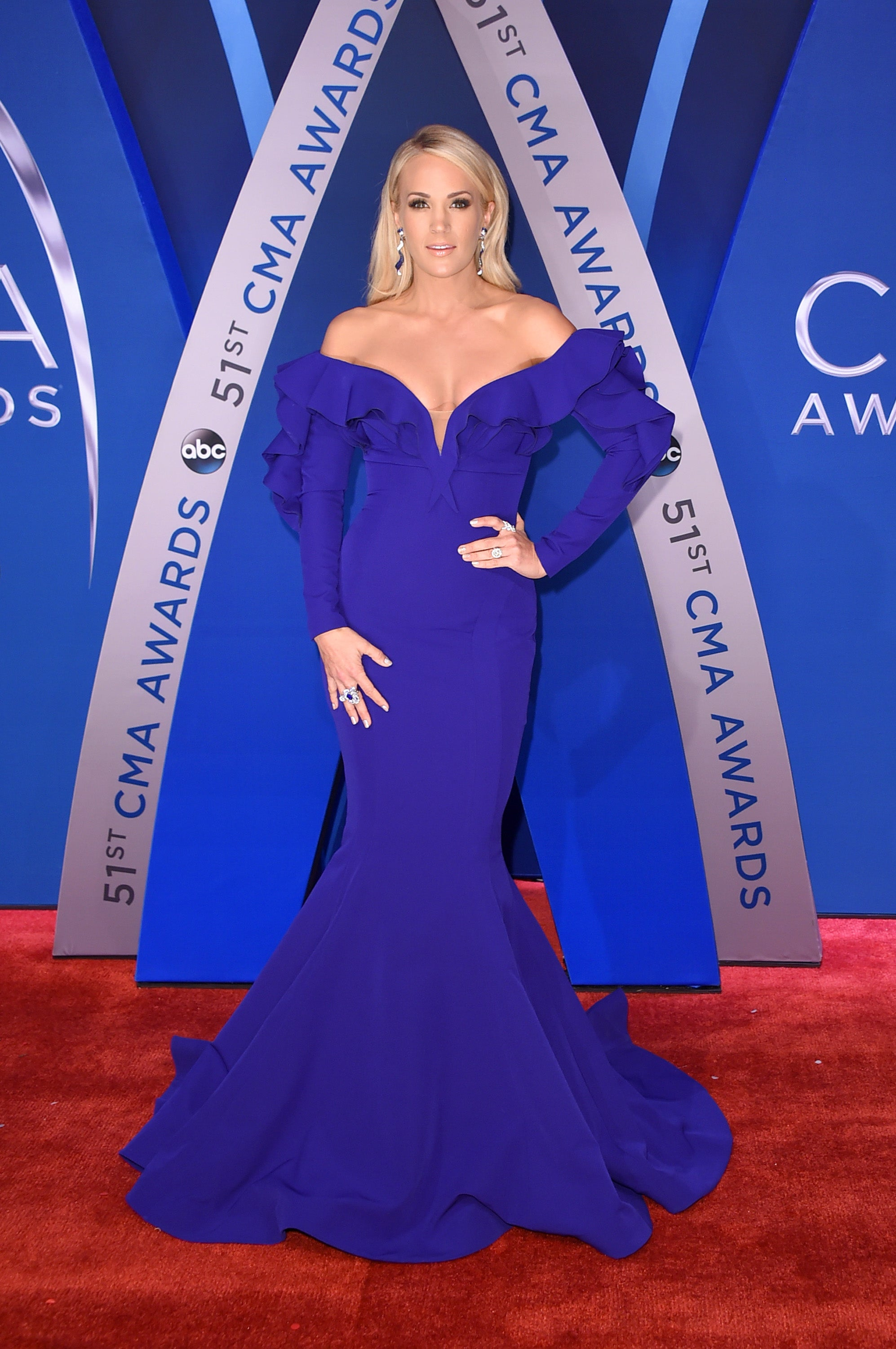 Carrie Underwood CMA Awards 2017