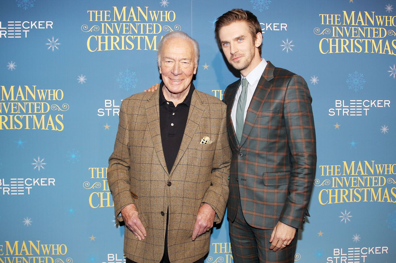 Christopher Plummer and Dan Stevens