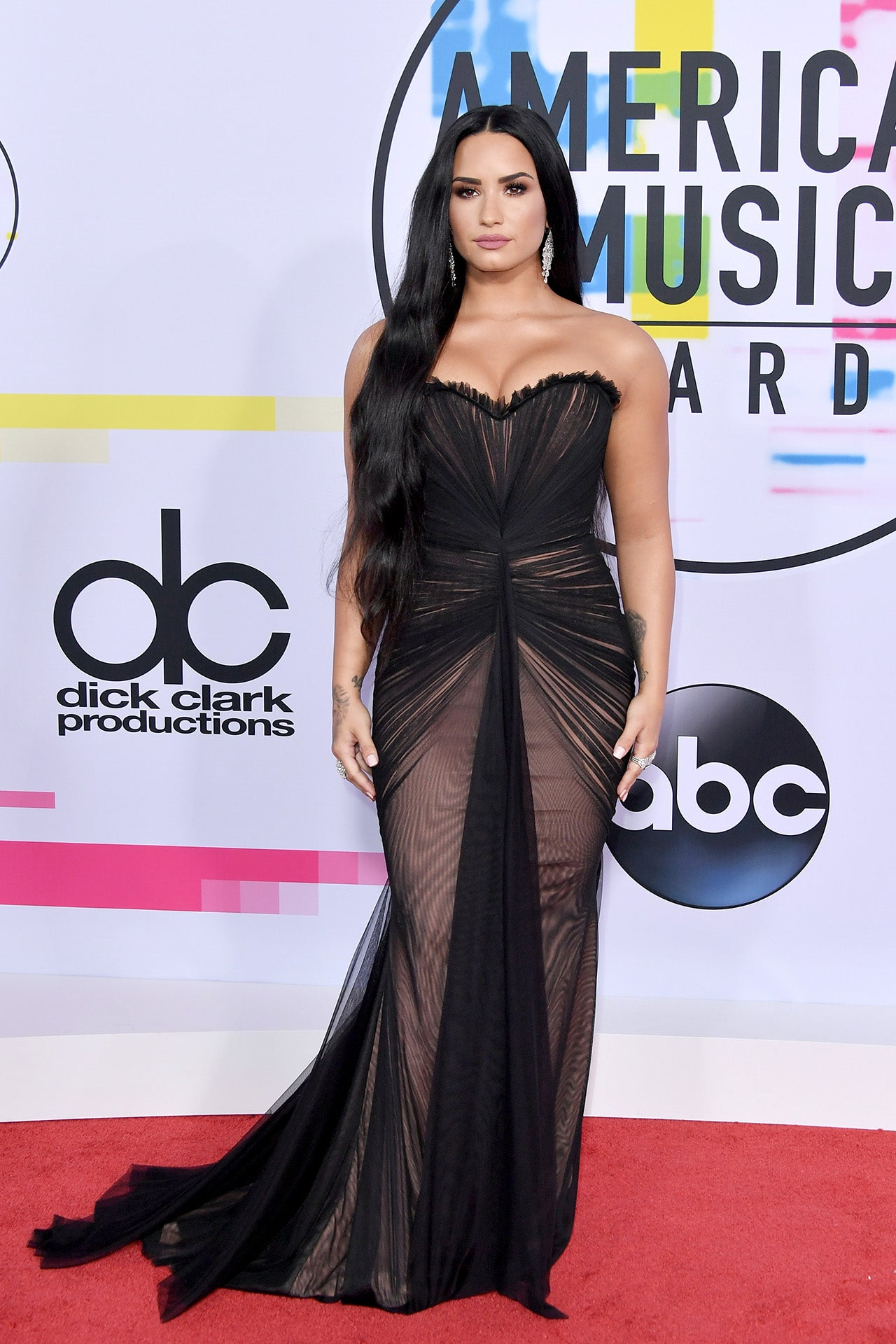 a7e1e85f034 Demi Lovato at the AMAs